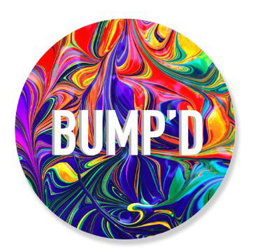 """Tie-Dye"" Bump'D Smart Tag 