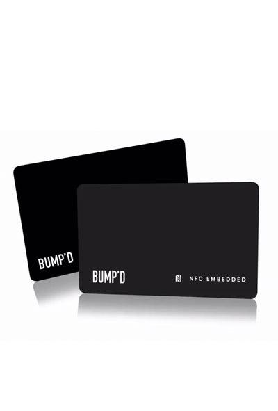 Bump'D Smart Unlimited Business Card | Bump'D