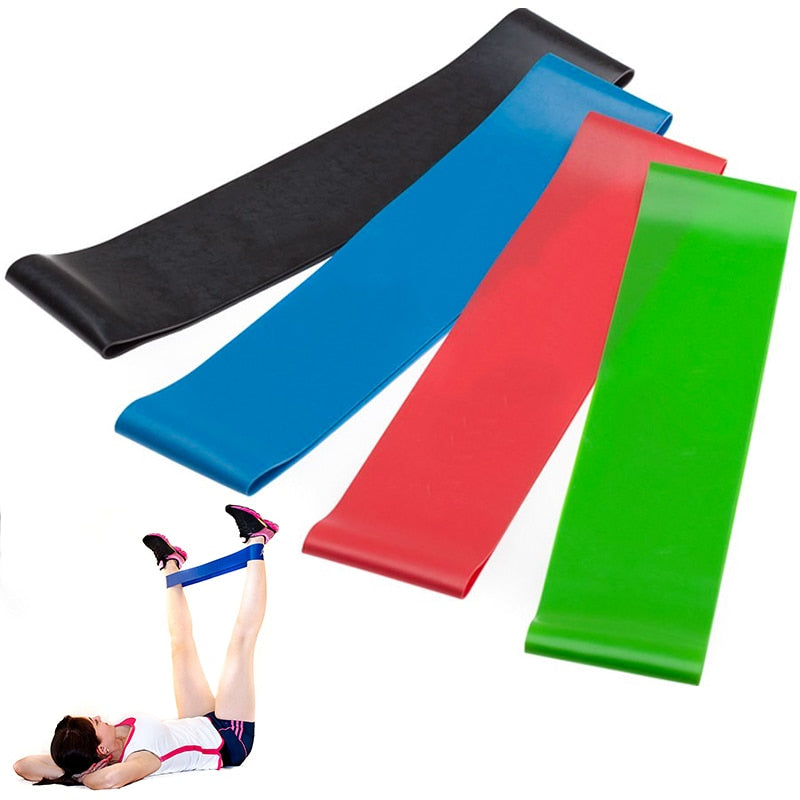Latex Resistance Bands Fitness Set