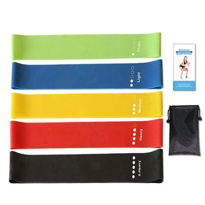 Training Gum Pilates Sport Rubbers Bands