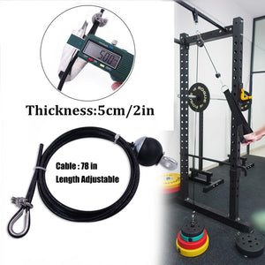 Cable Pulley System Machine