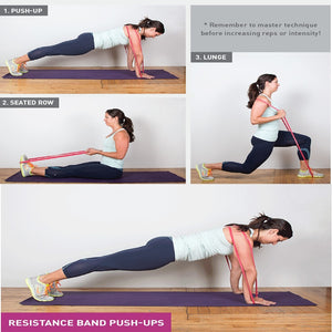 Exercise Elastic Band Workout Ruber