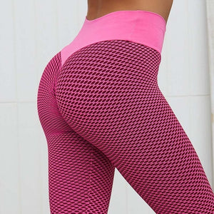 Yoga Pants - 3D Mesh Knitting