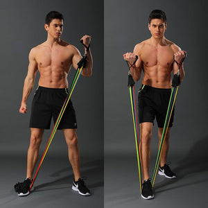 Latex Resistance Bands Crossfit Training