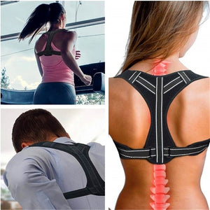 Back Shoulder Lumbar Brace Belt
