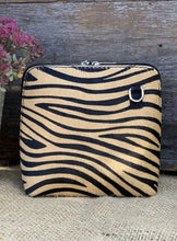 Load image into Gallery viewer, Animal Print Tiger Vera Pelle Bag - LavenderLime