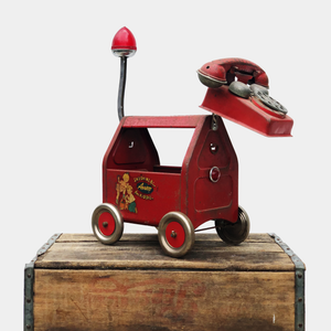 Red Mutt Sculpture