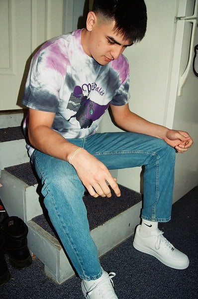 Headless Draco Man Tye Dye Tee