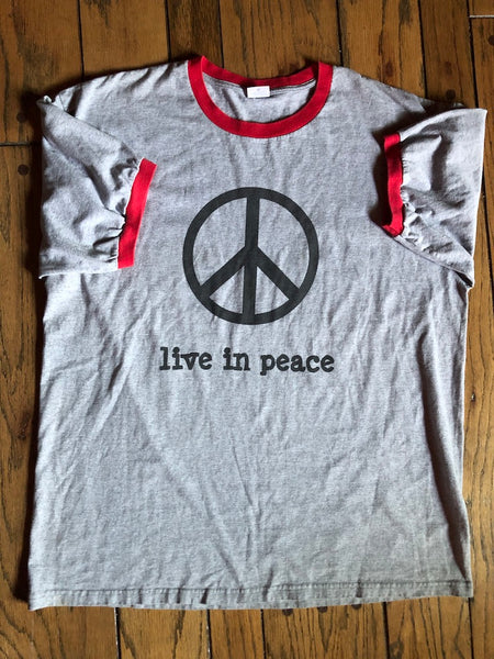 Live In Peace Tee