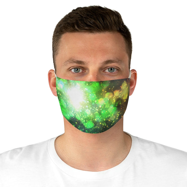 """The End Where I Begin"" Fabric Face Mask"