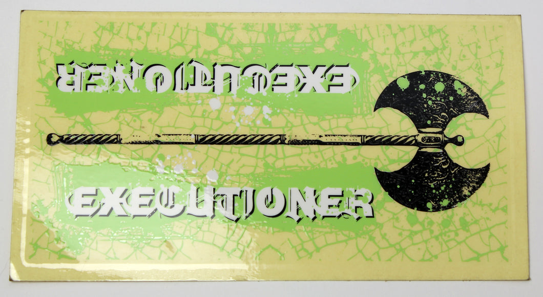 FBM Executioner v1 Downtube Sticker