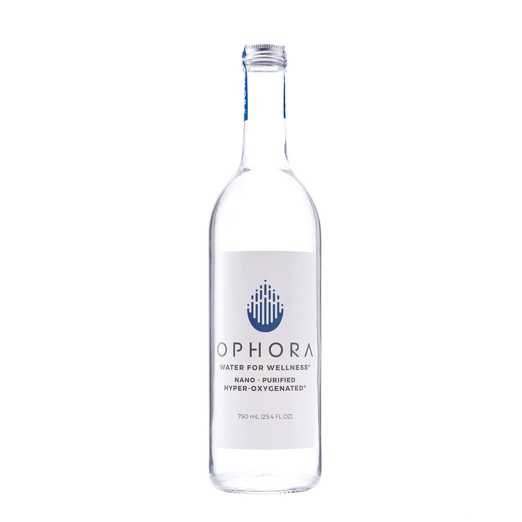 Case of Ophora Water 750ml Glass Bottles