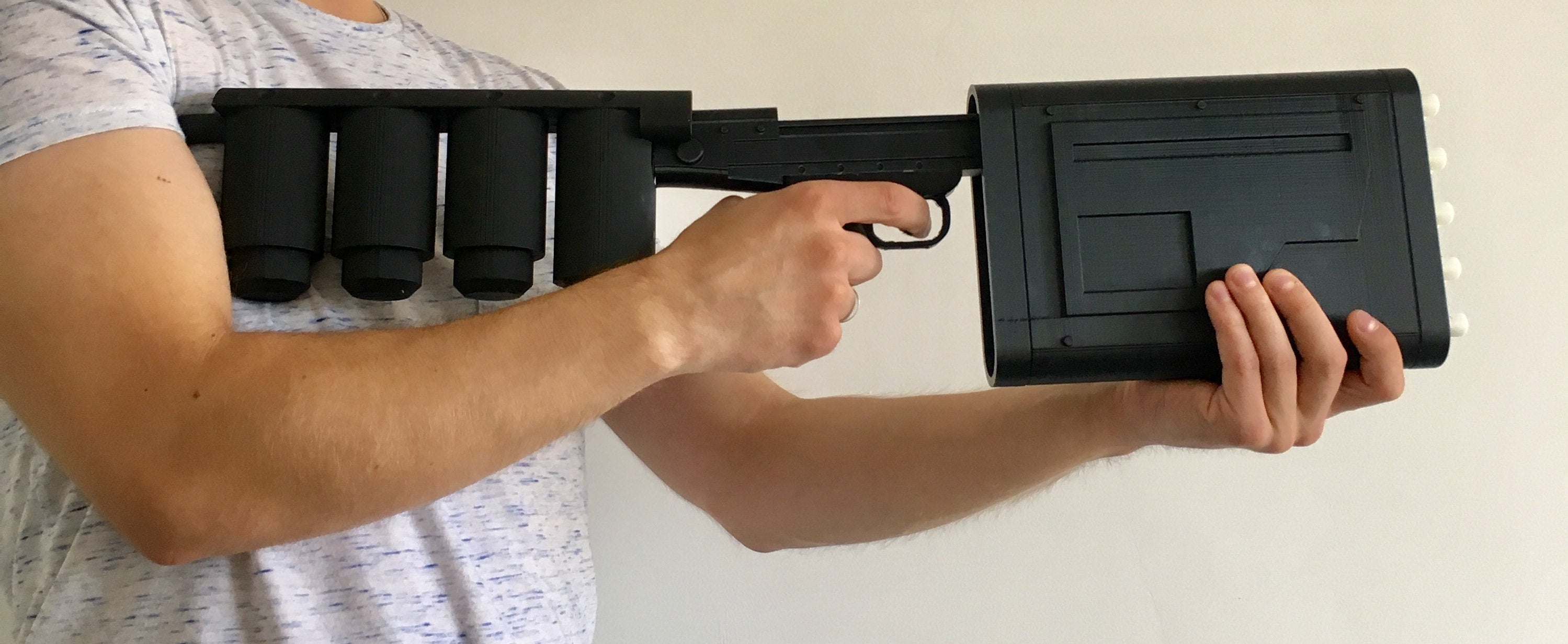 EMP GUN - The Dark Knight Rises, Batman Replica Prop - 3D Printed