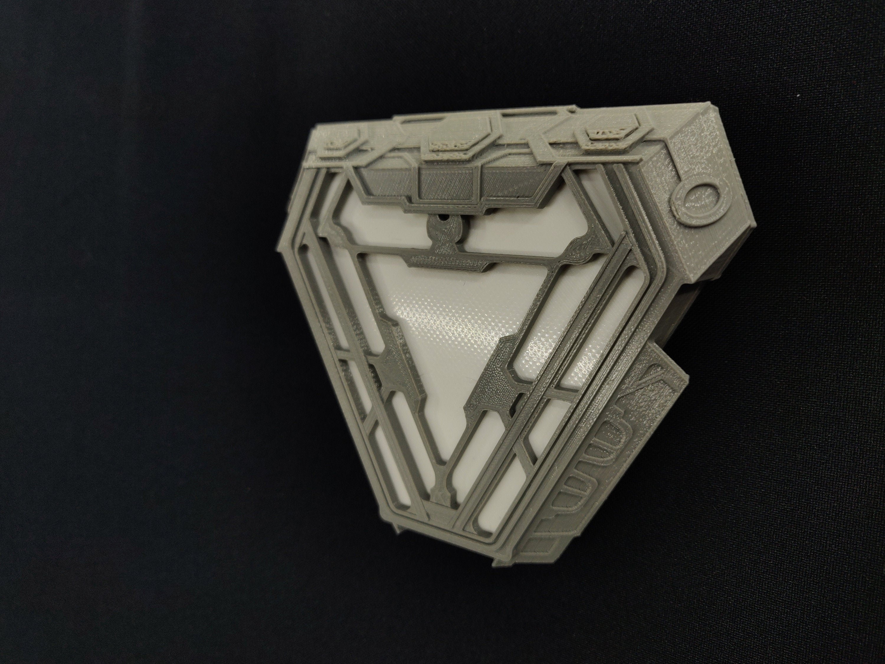 MK50 Ark Reactor Sci-fi Replica Prop - 3D Printed with LED Light