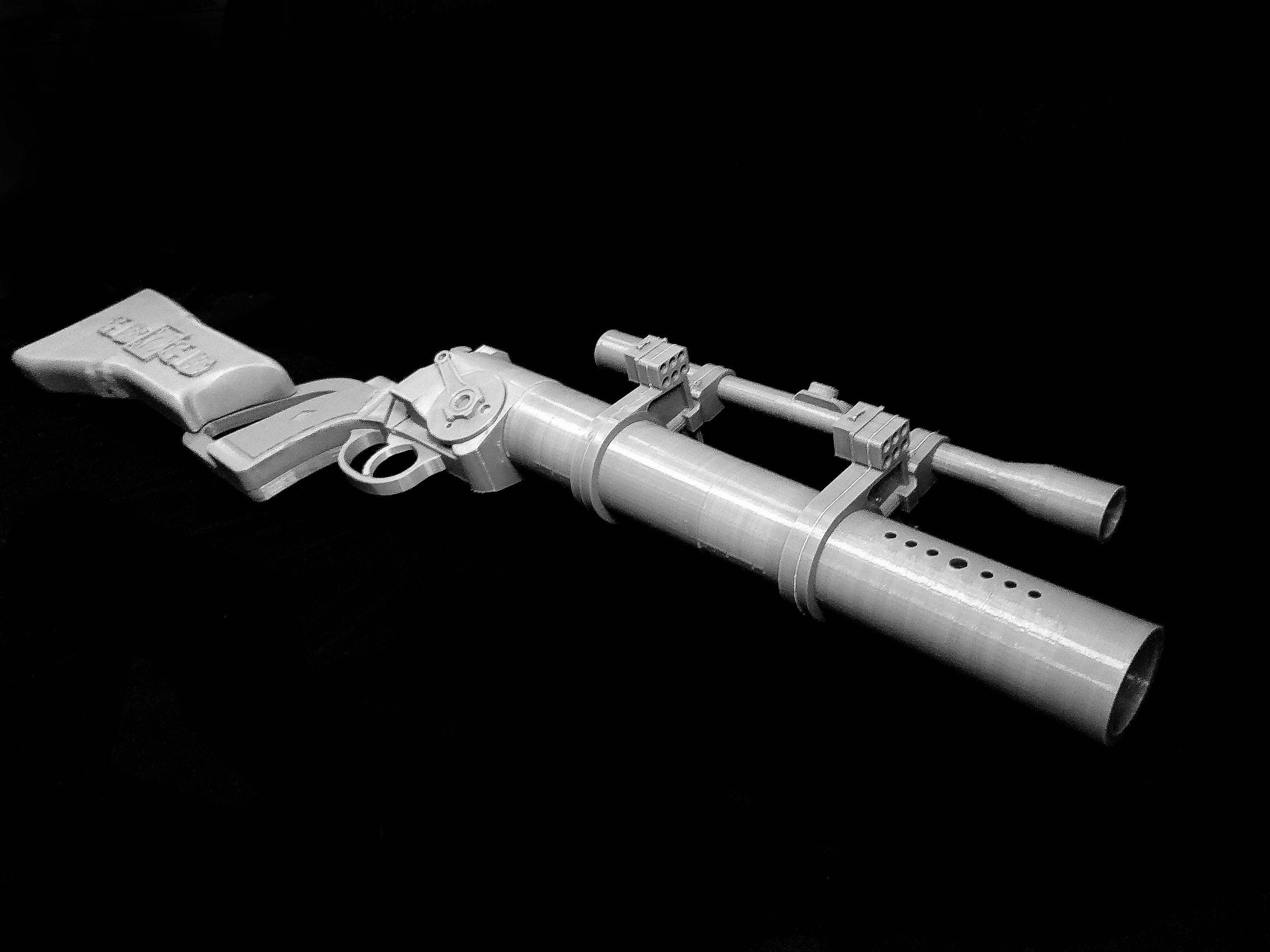 EE-3 ESB Carbine Blaster Rifle, Boba Fett - Star Wars Replica Prop - 3D Printed Kit