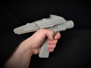 Type 2 Phaser Sci-fi Replica Prop with Movable Display - 3D Printed