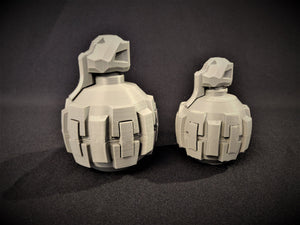 M9 Fragmentation Grenade (2 sizes)- Halo Replica Prop - 3D Printed
