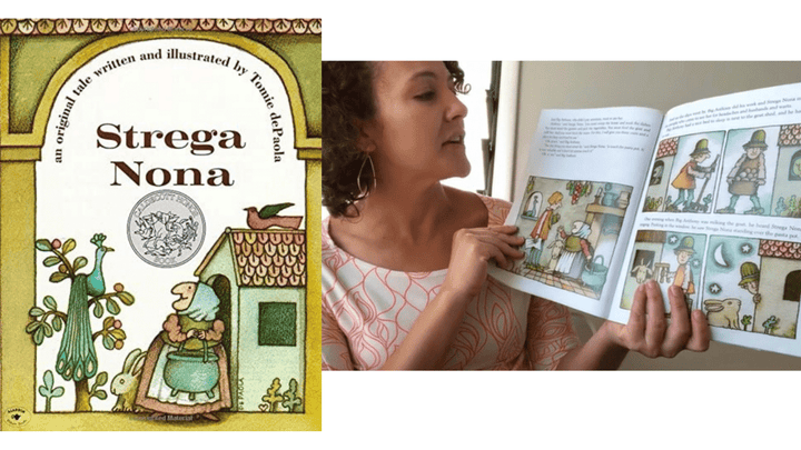 da Shop Read Aloud: Strega Nona by Tomie dePaola, Read by Sarah DeLuca