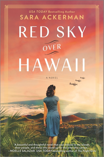 Virtual Author Talk! Red Sky Over Hawaii by Sarah Ackerman