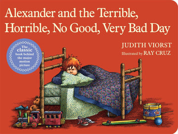 Alexander and the Terrible, Horrible, No Good, Very Bad Day (board book)