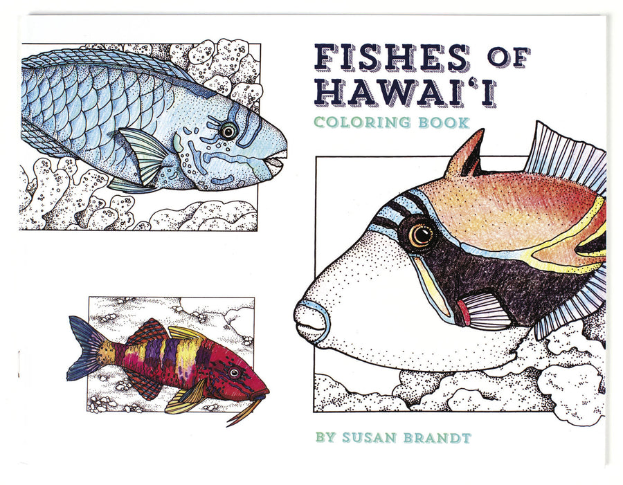 Fishes of Hawaii Coloring Book
