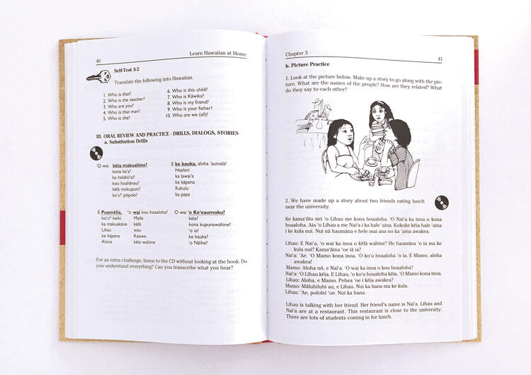 Learn Hawaiian at Home (with CDs)