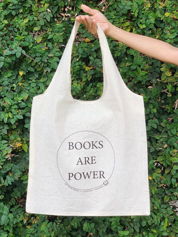 Tote Bag (Books Are Power)