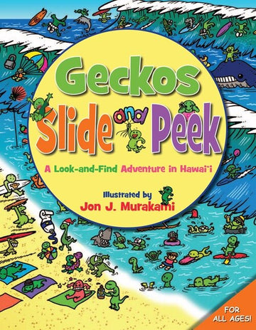 Geckos Slide and Peek