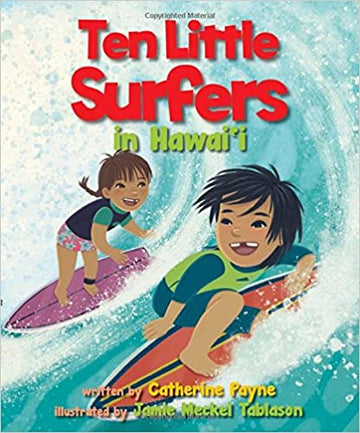 Ten Little Surfers in Hawaii