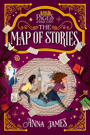 Pages & Co.: The Map of Stories (Book 3, hc)