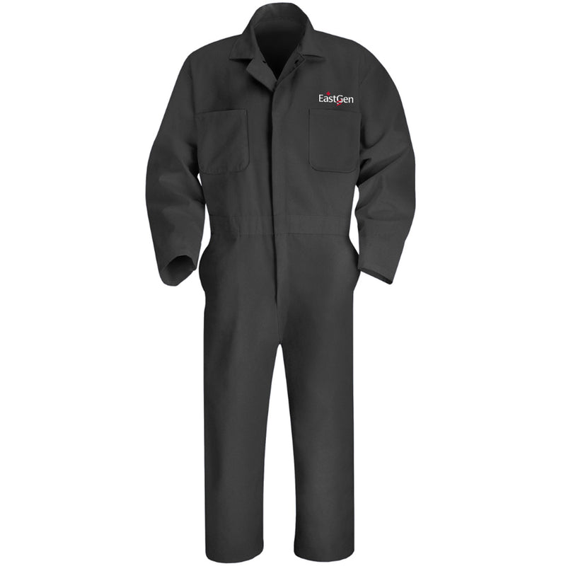 Twill Action Back Long Sleeve Coverall