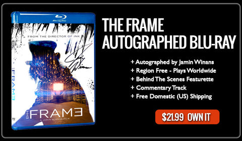 The Frame Autographed Blu-ray