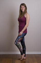 Stormy Grain Elevator Leggings