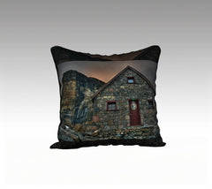 Pillow Cover: Abbot Hut