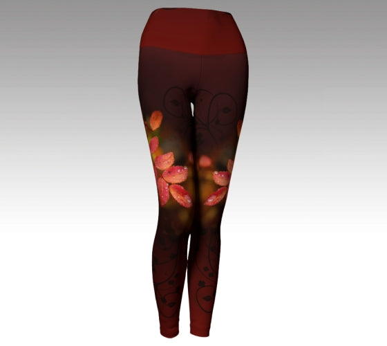 Yoga Waist:  Adventures in Autumn: Legging
