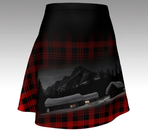 Flared Skirt: Cozy