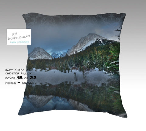Hazy Shade of Chester Pillow Cover