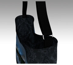 Tote with Mount Chester in Kananaskis Country Inside ornate detail