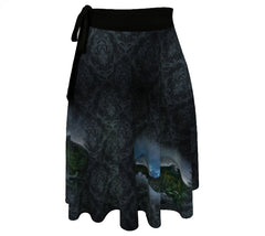 Wrap Skirt: Hazy Shade of Chester