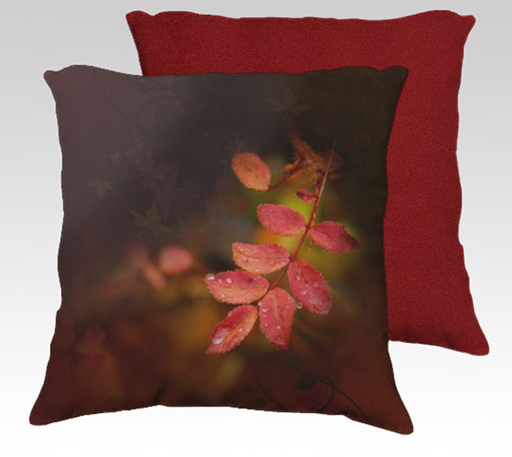 Autumn Reds Pillow Cover