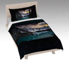 Moraine Lake Duvet Cover and Pillow Cases