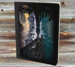 Gift Set Notebook + Pencil Case: Moraine Lake
