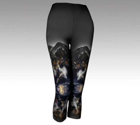 Mystery: Leggings with Pyramid Mountain, Jasper