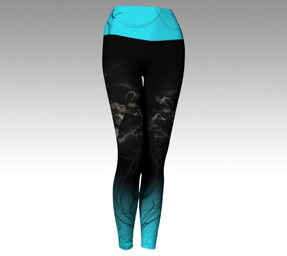 Yoga Waist Legging: Three Sisters