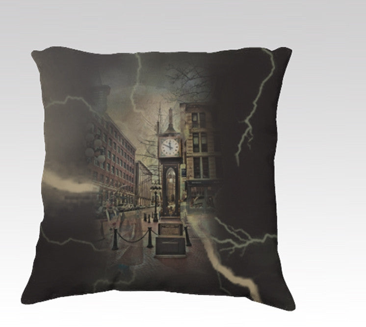 Time Travel Pillow Cover
