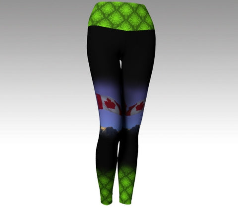 Yoga Waist Legging: Voltage