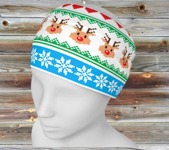 Gift Set: Double Knit Mask + Chube - Cheezy Christmas