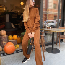 Load image into Gallery viewer, Knit tracksuit
