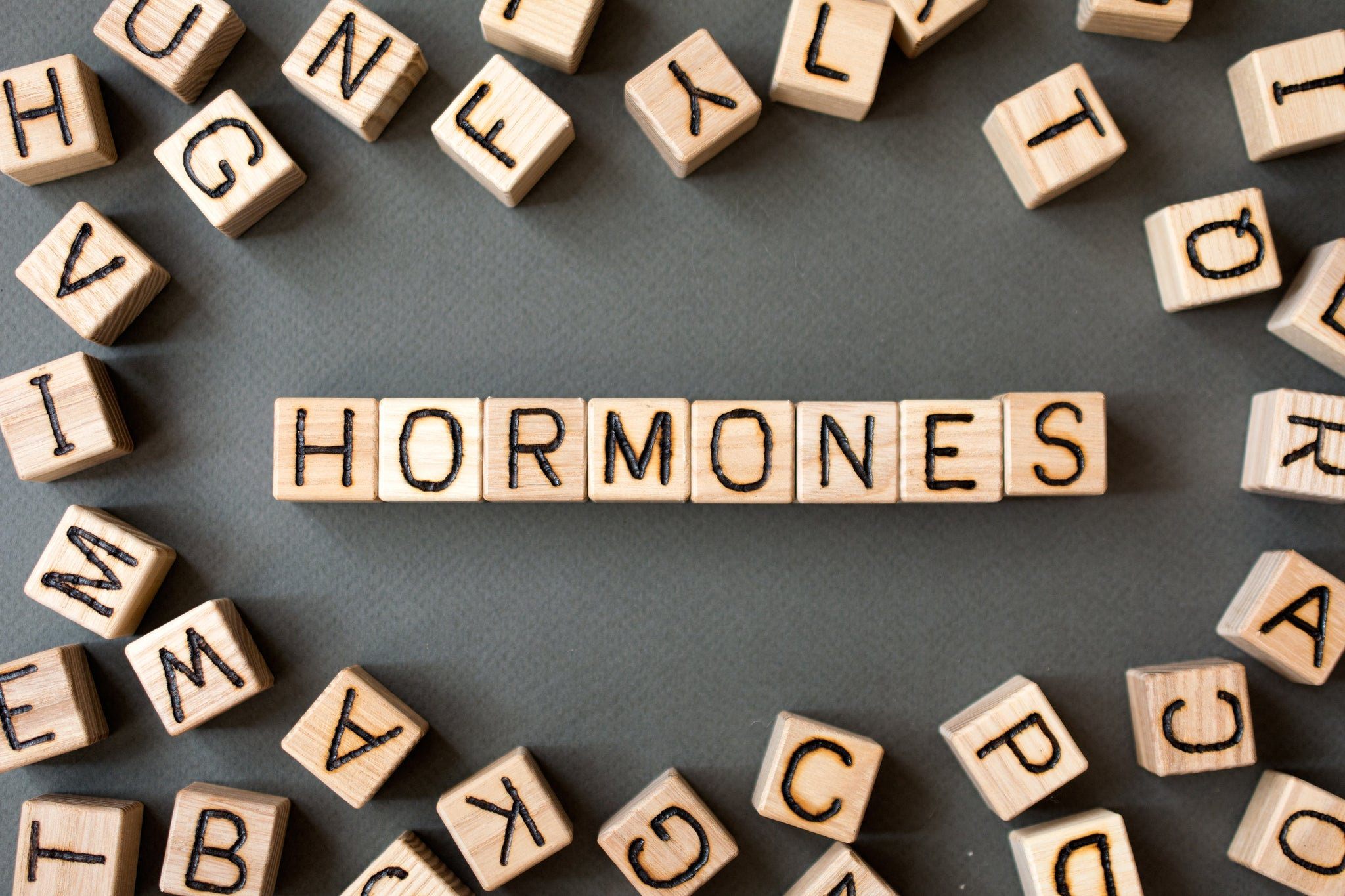 How can vitamins help with hormone imbalance?