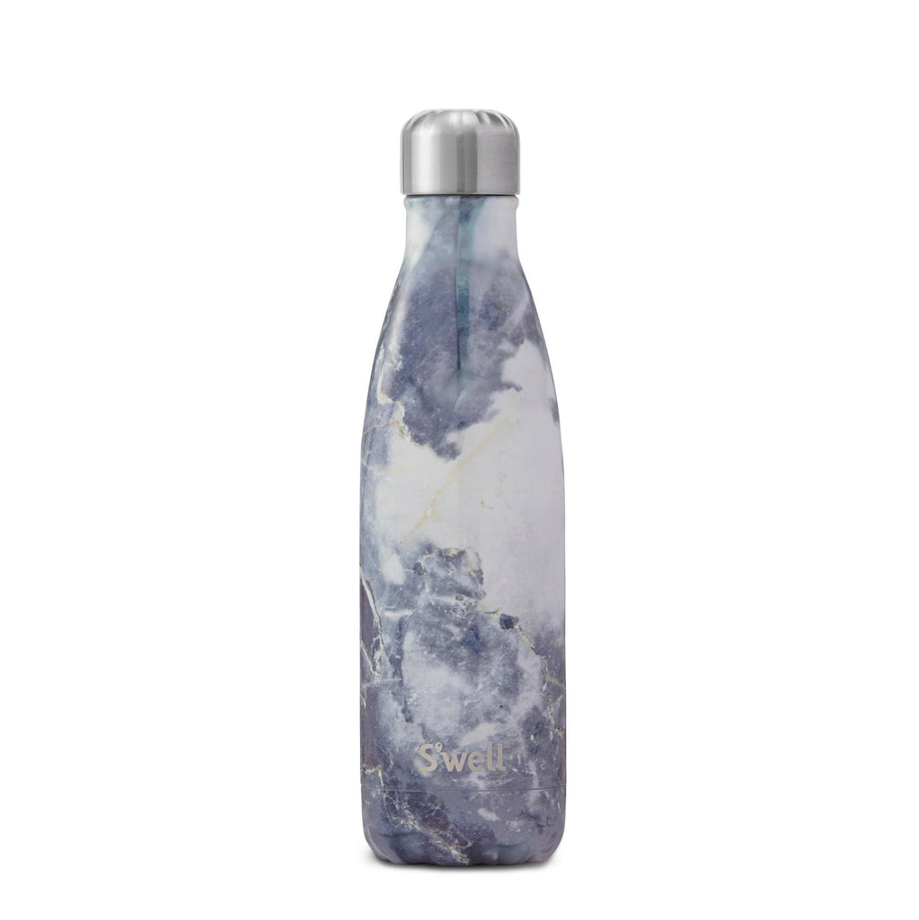 S'well - Stainless Steel Water Bottle - Blue Granite - GRACEiousliving.com